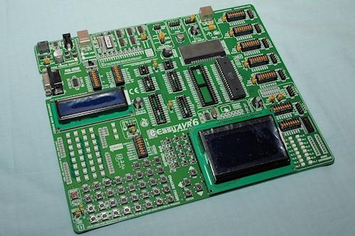 Mikroelektronika easyAVR6