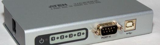 Aten UC2324 - USB to serial hub